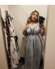 Nordstrom Rack Curvy Snake Dress Less than $100