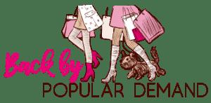 Back by Popular Demand logo