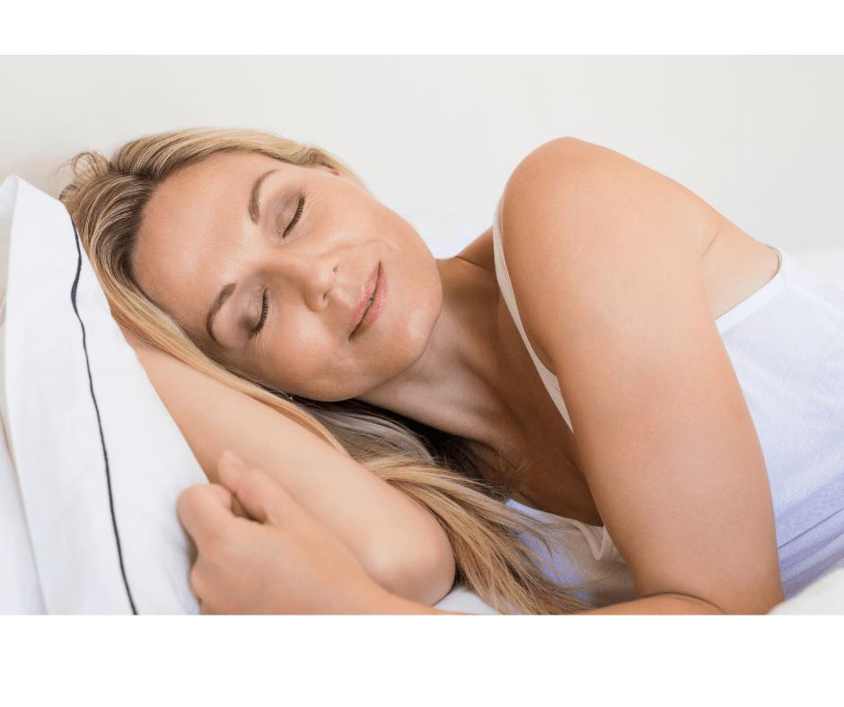 Mature Sleeping Woman