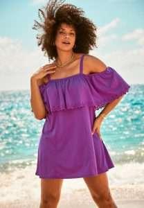 Cultured Curves Plus size Swim dress