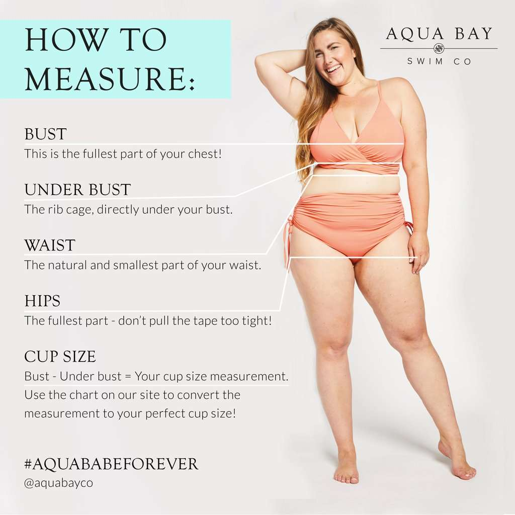 How to Measure for Plus size swimwear