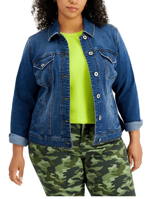 Style & Co Macys Denim Jacket